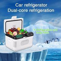 Excelvan 12L Home Portable Thermoelectric 12V Mini Auto Fridge Cooler Box Warmer Dual