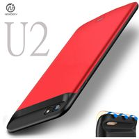 NEWDERY RU/USA U2 External Magnetic TPU battery Charger Case For iPhone 6 6S 7 Plus