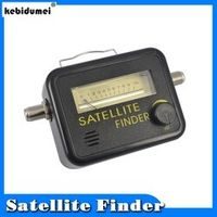 kebidumei Digital Satellite Finder Meter FTA LNB DIRECTV Signal Pointer SATV