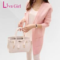 Liva Girl Autumn Winter Female Long Sleeve Korean Women