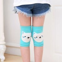 feitong Wool Children Cartoon Cat Protection Safety Knee