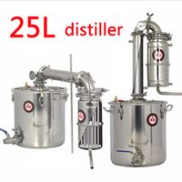 Household  25L Large capacity Stainless steel Wine brewing machine equipment Alcohol Vodka Liquor distiller pot/boilers
