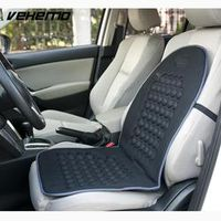 Vehemo Magnetic Car Bubble Seat Cushion Massage Therapy Home Office Black Universal