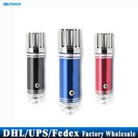 DHL/Fedex/UPS 20pcs/lot The Most Popular Mini Car Air Purifier(Car impulse anion oxygen bar JO-6271)