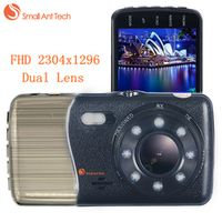 SMALLANTTECH SamllAntTech Car DVR Dual Lens Dash Cam G-sensor Night Vision Camera
