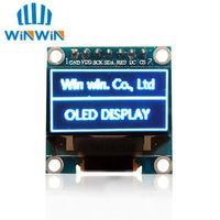 "SAMIORE ROBOT D32 1pcs 0.96""blue 0.96 inch 128X64 OLED LCD"