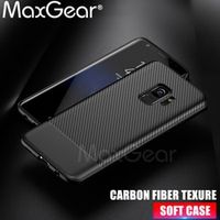 MaxGear For Coque Samsung Galaxy S8 Silicone Phone Cases For Galaxy S9 Plus Note