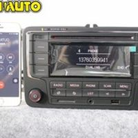 AIDUAUTO USED RCN210 Bluetooth USB Player CD MP3 Radio FOR VW Golf 5 6 Jetta Mk5 MK6