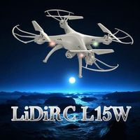 LeadingStar 2.4G Waterproof RC Quadcopter Wifi Real Time Transmission Drone for Aerial Photography Beautiful White Color Drone