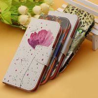 effelon Luxury Painting Flip Leather Cover Case For Samsung Galaxy s3 s4 s5 Mini /