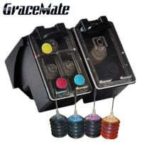 GraceMate Refillable Ink Cartridge 122 122XL for HP Deskjet 1000 1050A 2000 2050