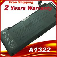 """Laptop Battery A1322 For APPLE MacBook Pro 13 """" Unibody A1278 Mid 2009 2010 2011 Battery+ Gift Screwdriver"""
