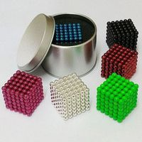 King Magic gift 5mm 216pcs Magnetic Neodymium Magic Cube
