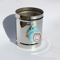 "150MM Stainless steel air valve seal type, 220VAC Air damper air tight type, 6"" ventilation pipe valve"