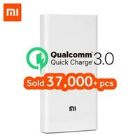 Xiaomi Power Bank 20000mAh 2C Portable Charger Support QC3.0 External Battery