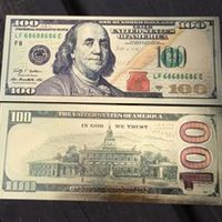 USA 100 Dollar Gold Banknote Currency Bill Paper Money