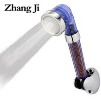 Zhang Ji 3Fuctions SPA Filter Hand Hold Shower Head Water Saving Bathroom Accessories