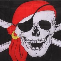 New Essential Huge Skull and Cross Crossbones Jolly Roger Pirate Flags Holloween KTV hanging Decoration bandeira GI872155