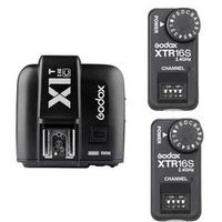 Godox X1T-C TTL 2.4G Wireless Trigger 2x XTR-16S Flash Receiver for V850 V860C