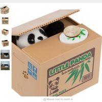 OnnPnnQ Ola Panda Thief toy banks gift kids Automatic Stole