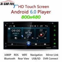 """Ai CAR FUN RK-A6153C Android 6.0 System 7"""" MP5 Multimedia Player Mobile Phone GPS"""