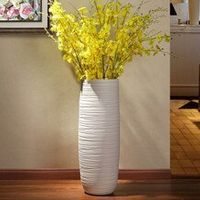 Jia-gui luo vase for wedding decoration Nordic hand-painted floor vase home living room decoration
