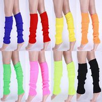 SANWOOD Women Solid Color Knit Winter Leg Warmers Knee High