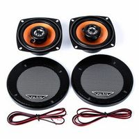 Rectangle FLT-4230 4.0 inch Two-way Coaxial Car Audio Loudspeaker High Energy Double