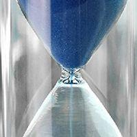 Aotu HGHO-Plastic Crystal 10 Minutes Sand Clock Decoration
