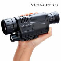 GOMU 5 x 40 Infrared Night Vision Military Tactical Powerful HD Monocular Telescope