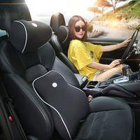 Soft Memory Foam Lumbar Cushion Waist pad Car Seat Pillows for ford focus 1 2 3 mk2
