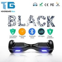 TG Black 6.5 Inch Smart Balance Wheel Electric Scooter Hoverboard Skateboard Standing