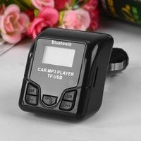 CATUO Bluetooth Handsfree Wireless Car MP3 Audio Player FM Modulator with USB Charger