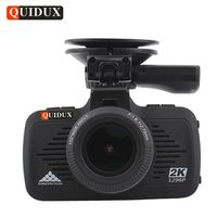 QUIDUX 2K Full HD 1296P Video Camera Recorder GPS Logger LDWS Ambarella Night Vision