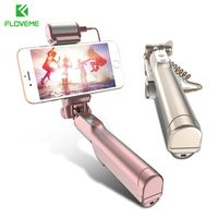 FLOVEME Bluetooth Selfie Stick For iPhone 7 7 plus 6 6s Plus 5s Monopod Selfie For Samsung S8 S7 Edge For Huawei P10 Xiaomi Mi6