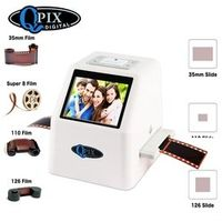 QPIX DIGITAL High Resolution 22 MP 110 135 126KPK Super 8 Negative Photo 35mm Slide