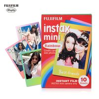 Fujifilm Instax Mini 8 Instant Film Photo Paper Rainbow Snapshot Album for Fujifilm Instax Mini8/7s/25/90/9 Camera 10-60 Sheets