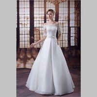 iLoveWedding A-Line Wedding Dresses Formal Floor Length