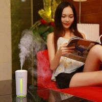 CATUO Auto Home Cup Shape USB Charging Car Office Air Humidifier With Colorful Night
