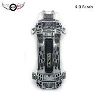 I KEY BUY Key Refit Audio 4.0 Farah Capacitor Subwoofer 4F Regulator With Lights
