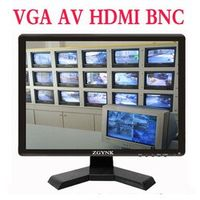 ZGYNK 15'' BNC HDMI VGA AV industrial security LCD monitor computer display