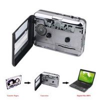 GRITZEST Portable Cassette MP3 Audio Music CD Digital Player Converter Tape Capture
