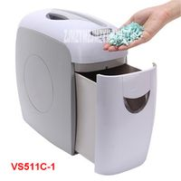 VS511C-1  7.5L Mini Electric Paper Shredder Paper Broken mute pulverizer family 220V/50hz Shredding Size 4*38MM 5 sheets / time