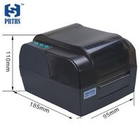 BTP-2300E 300DPI HD barcode printer with optional Ethernet port thermal/transfer label printer for business etiquetadora