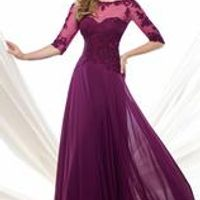 Mother of the Bride Dresses for Weddings 2016 with Sleeve Chiffon Sequin Godmother Groom Bride Mother Dress vestido mae da noiva