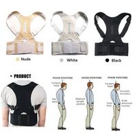 Aptoco Magnetic Therapy Posture Corrector Back for Men Women Braces Supports Belt