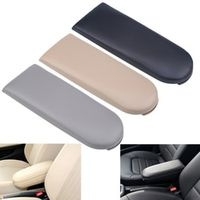 POSSBAY Leather Car Center Console Cover Auto Seat Armrests Box Pads Fit