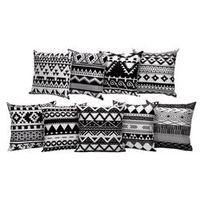 MUQGEW 2018 Flower Letters Pillow Case Sofa Waist Throw Cushion Cover Home Decor