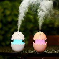 tancredy Broken Egg Lovely Home Air Purifier Mist FoggerAtomization Maker Machine USB