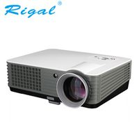 Rigal RD801 LED Projector 2000Lumens Android WIFI 3D Beamer Home Cinema Theatre